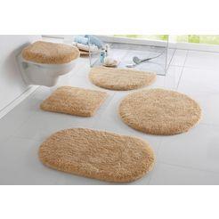 badmat »merida«, my home, hoogte 32 mm, met antislip-coating, geschikt voor vloerverwarming beige