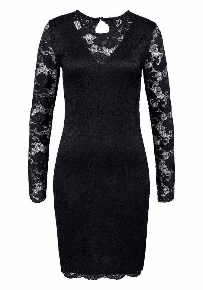 Vero Moda kanten jurk JOY zwart