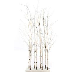 led-boom divid roomdivider met talrijke warmwitte leds beige