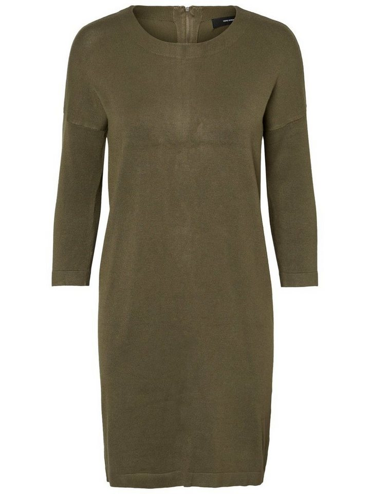 Vero Moda Casual gebreide jurk groen