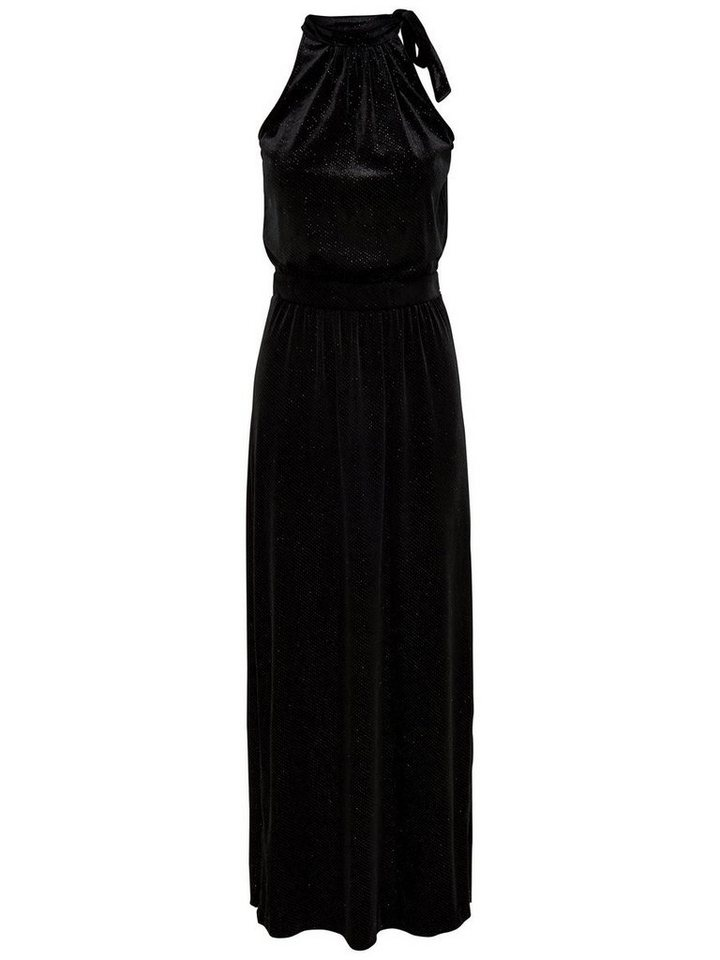 ONLY Halterneck Maxi jurk zwart