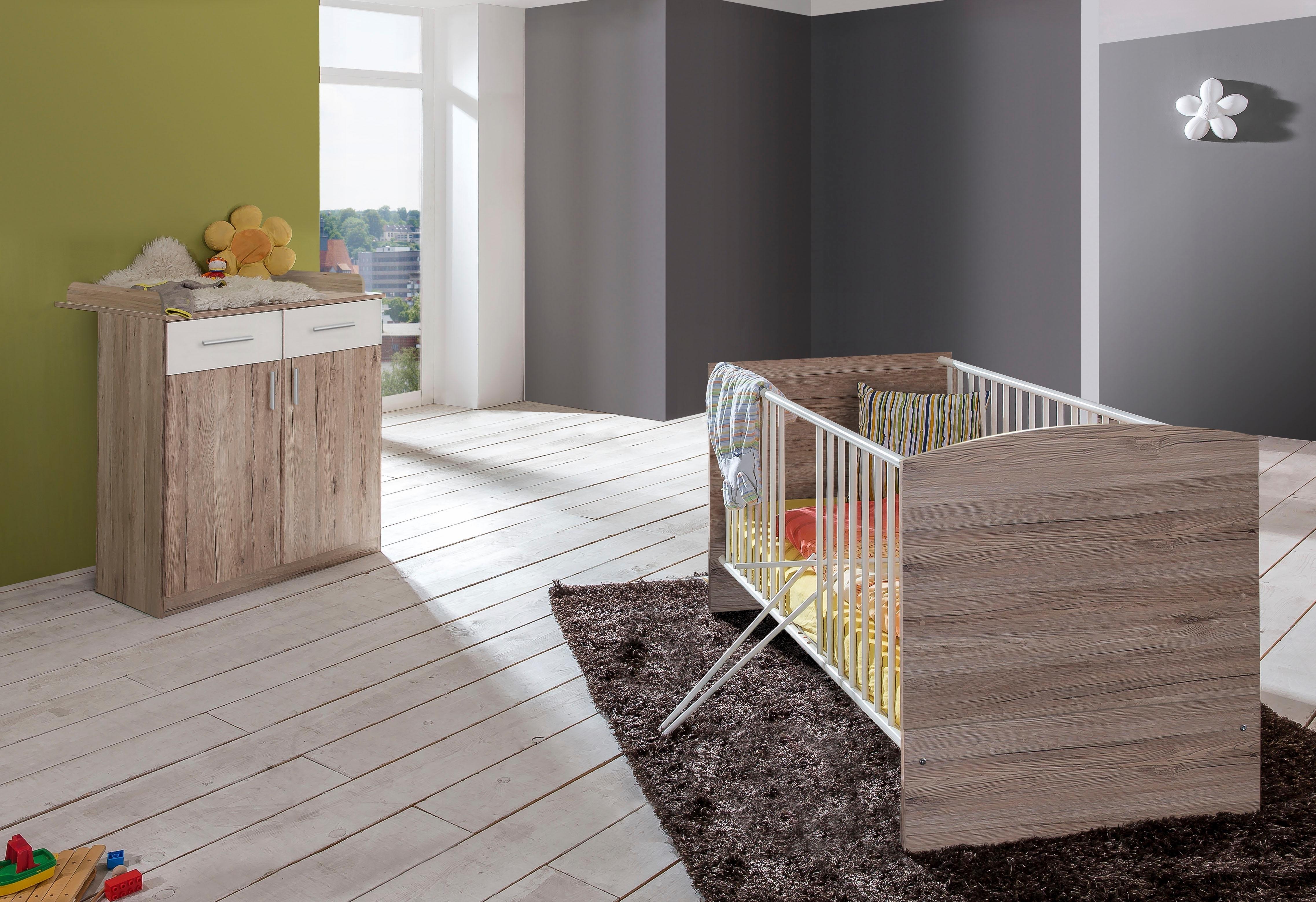 Hoogte Commode Babykamer : Voordeelset babykamer »york« ledikantje commode 2 dlg. in