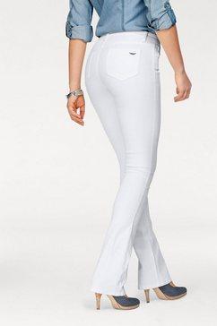 arizona bootcut jeans ultra stretch mid-waist wit