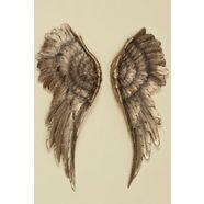 home affaire sierobject voor aan de wand engelenvleugel goud (2 stuks) goud
