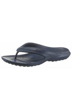 crocs teenslippers »classic flip« blauw