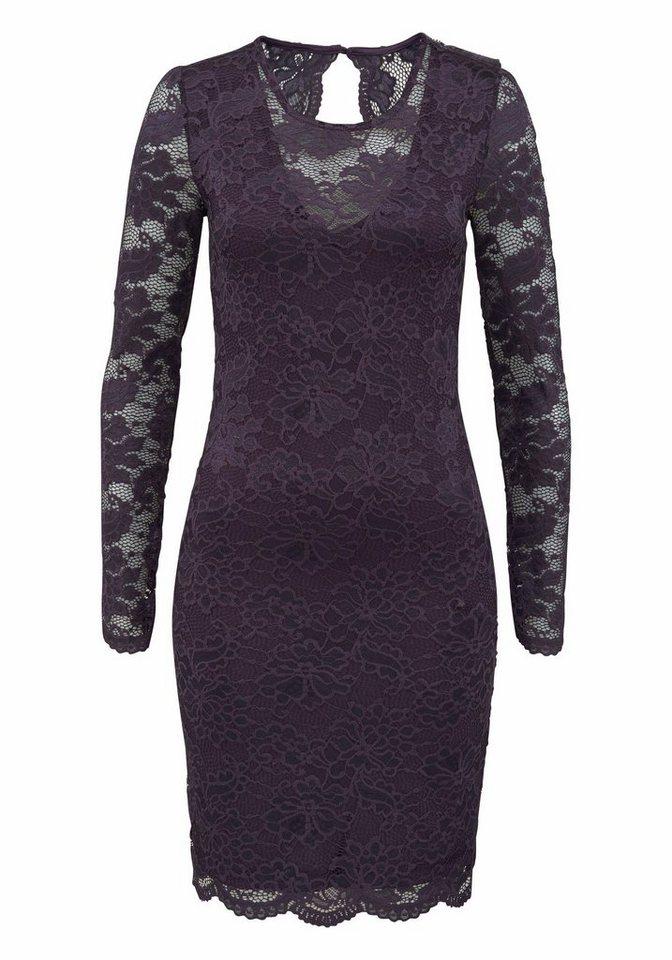 Vero Moda kanten jurk JOY paars