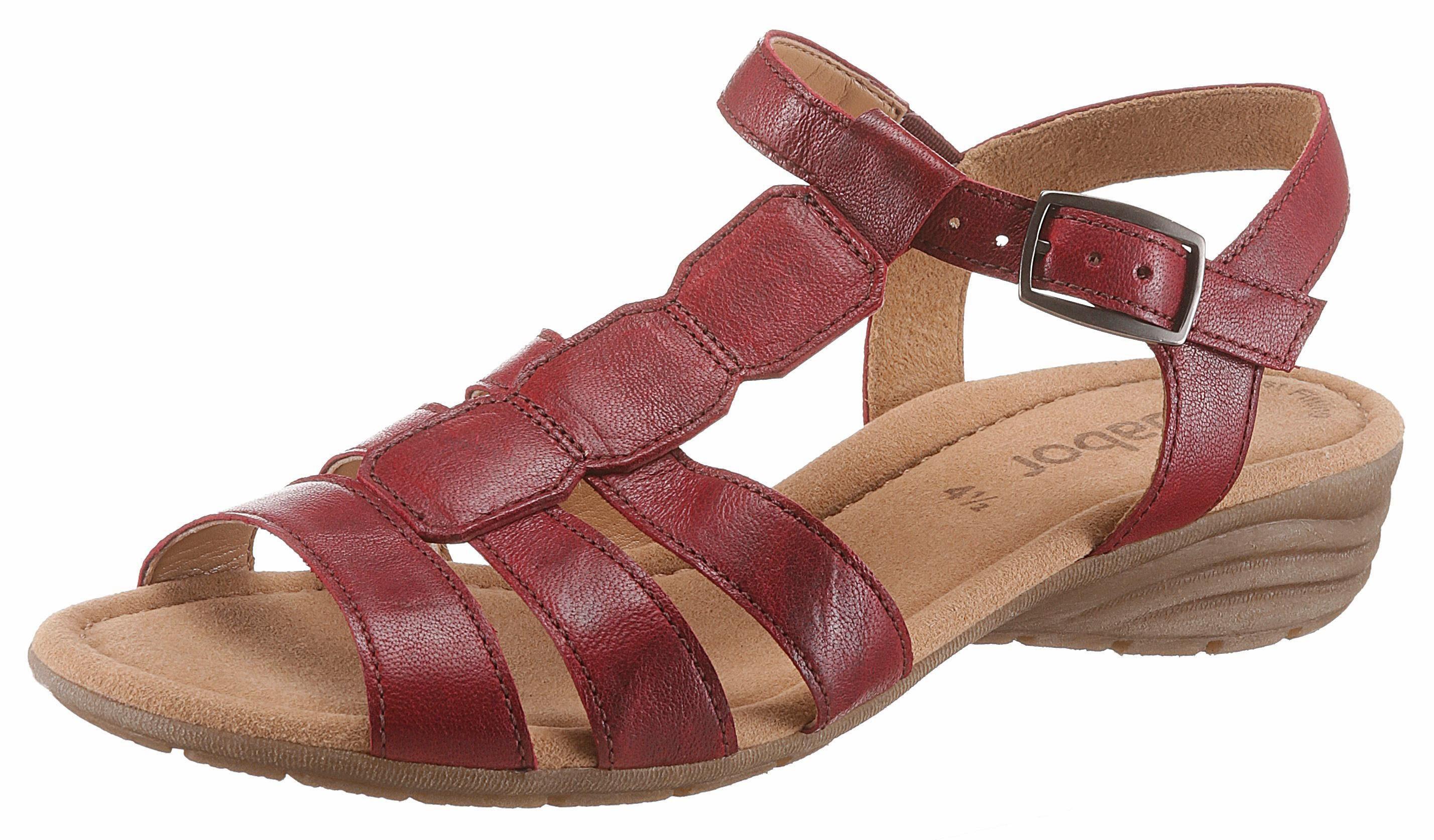 Sandales Rouges 4,5 Par Gabor