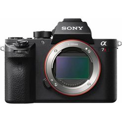 sony systeemcamera alpha 7r ii ilce-7rm2b 42,4 mp-volformaat exmor-r-cmos-sensor zonder olpf zwart