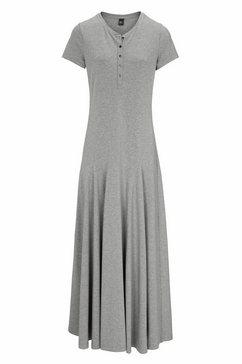 maxi-jurk grijs