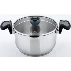 cs-solingen braadpan aron inductie (1-delig) zilver