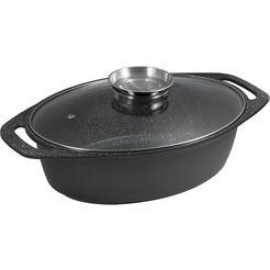 cs koch-systeme braadpan »marburg« (1-delig) zwart
