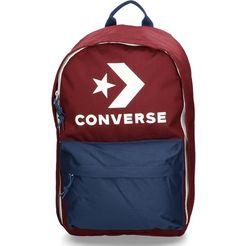 converse laptoprugzak »edc 22, dark burgundy-navy« rood