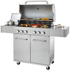 konifera »ancona« gasbarbecue zilver