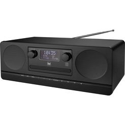 dual »dab 420 bt« micro-set zwart