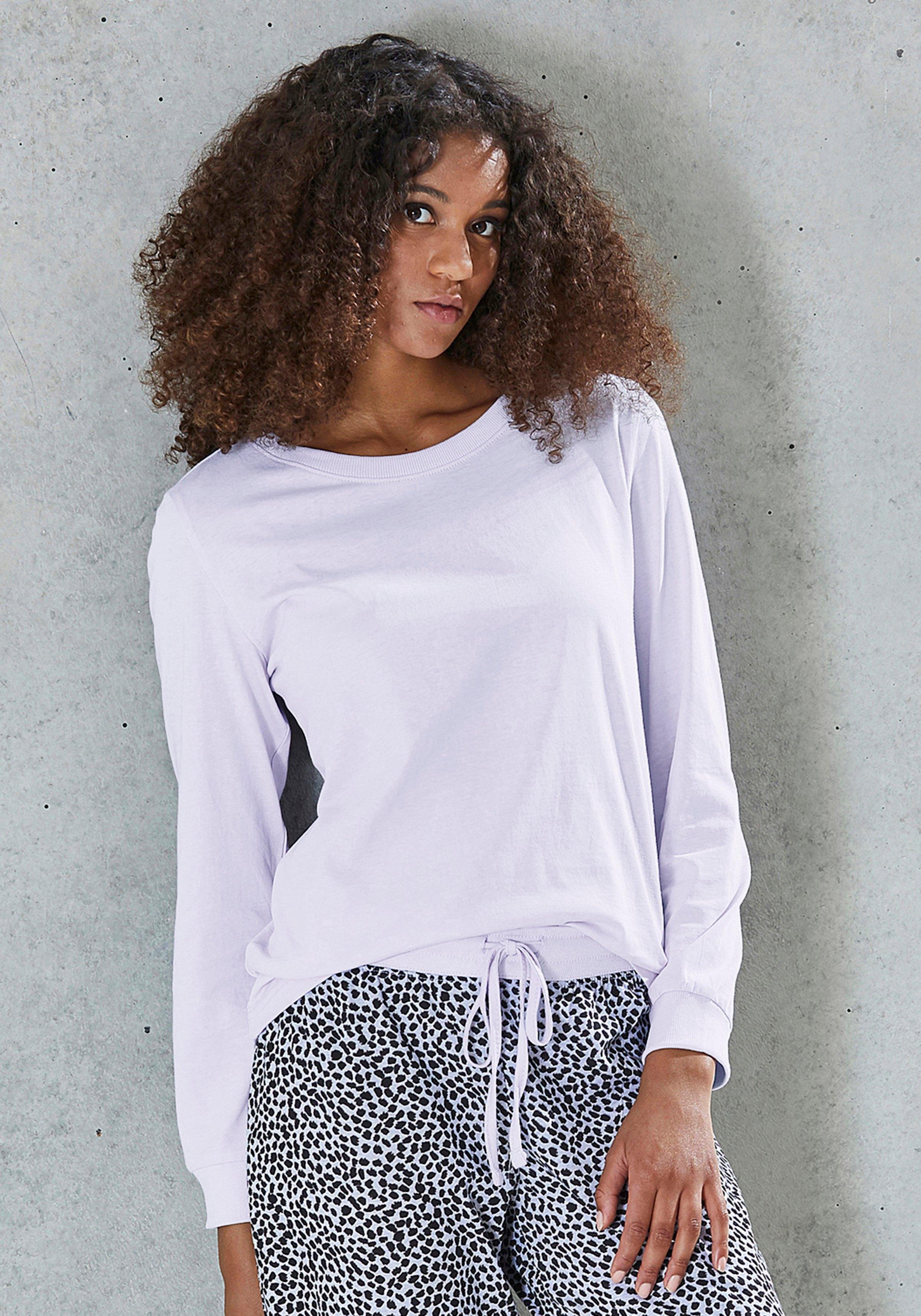vivance collection shirt met lange mouwen - gratis ruilen op otto.nl