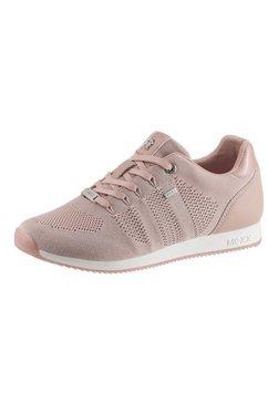 mexx sneakers djaimy 2 met zacht verdikte rand roze