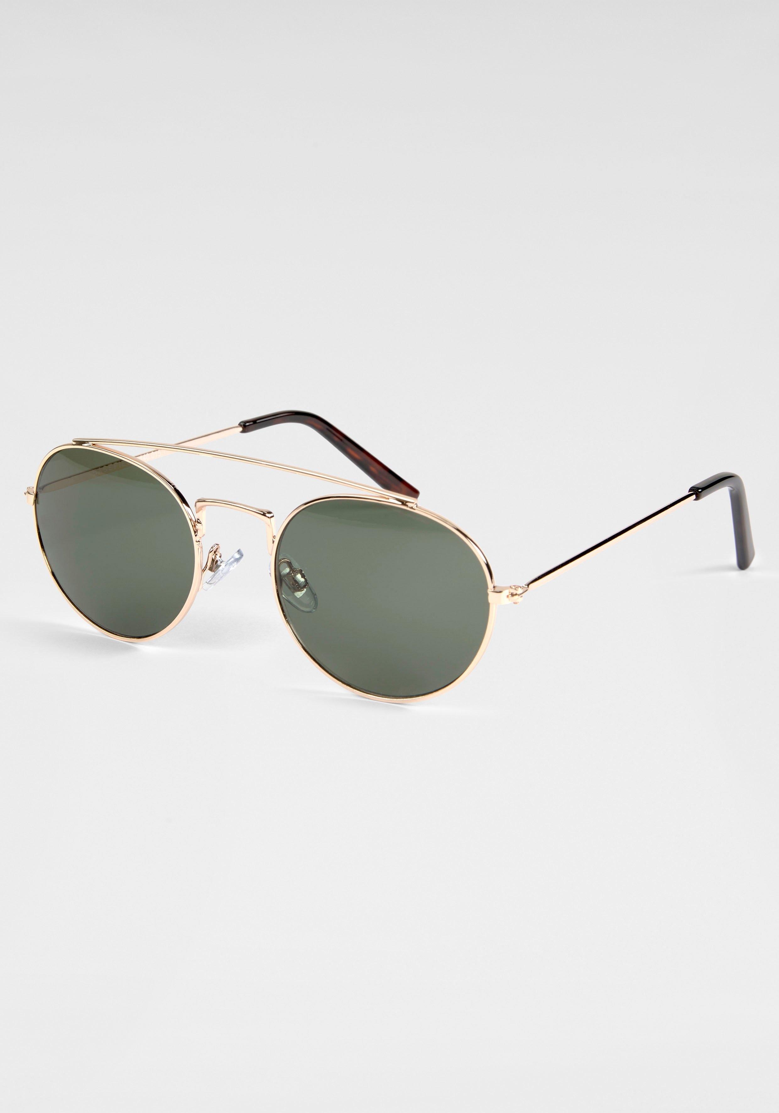BASEFIELD zonnebril met goudkleurige rand bij OTTO online kopen