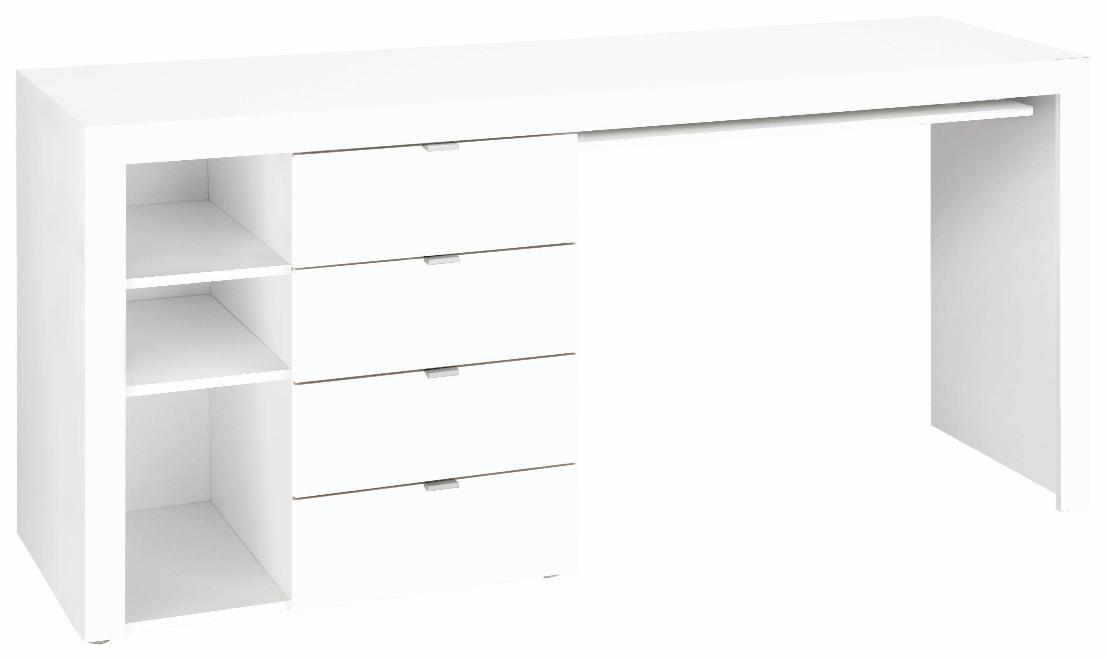 borchardt Möbel Bureau Wim met 3 vakken en 4 lades goedkoop op otto.nl kopen