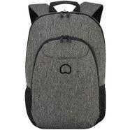 delsey rugzak met 13,3-inch laptopvak, »esplanade, antraciet« grijs
