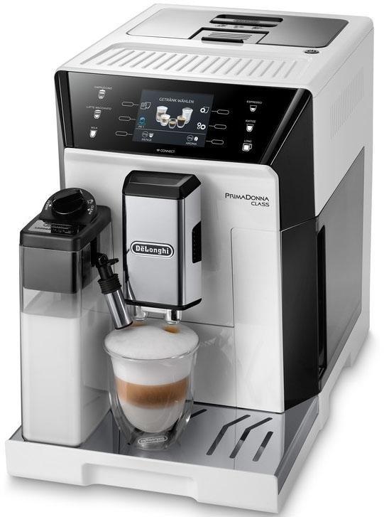 Delonghi De'Longhi volautomatisch koffiezetapparaat PrimaDonna Class ECAM 556.55.W, 2 liter, kegelmaalwerk voordelig en veilig online kopen