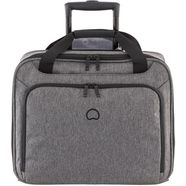 delsey businesstrolley met 15,6-inch laptopvak, »esplanade, antraciet« grijs