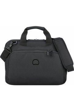 delsey aktetas met 13,3-inch laptopvak, »esplanade, 1 vak, zwart« zwart
