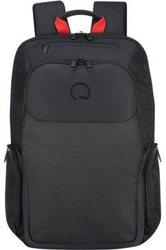 delsey rugzak met 15,6 inch laptopvak, »parvis plus« zwart