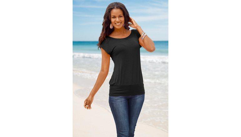 20733032e3b607 LASCANA Shirt in lang model  Bestel nu bij