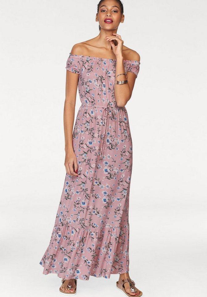 AJC maxi-jurk roze