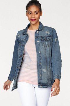 ajc jeansjack blauw