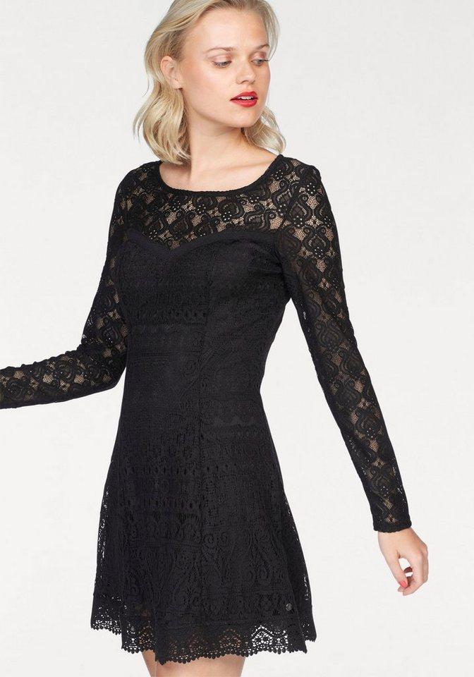 AJC kanten jurk zwart
