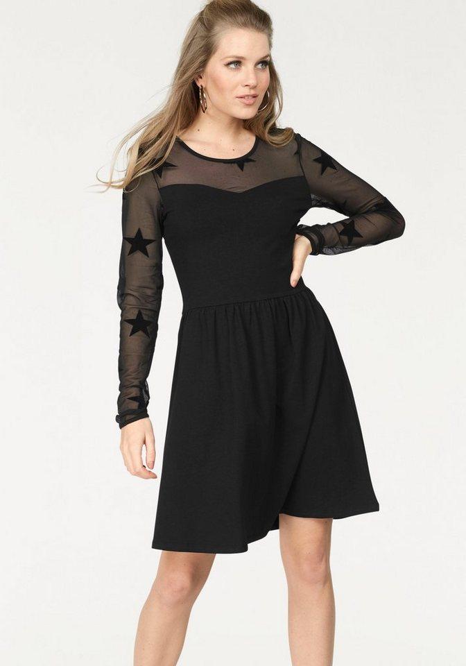 ONLY party-jurk NIELLA zwart