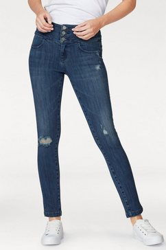miss sixty skinny fit jeans »blue attack« blauw