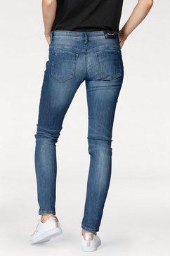 kaporal slim fit jeans »jypsy« blauw