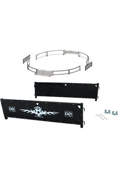 exit rebounder »panna field extension kit«, bxh: 153x40 cm zwart
