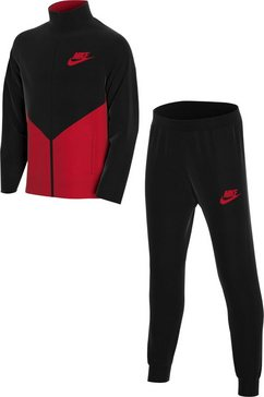 nike trainingspak »core futura play track suit« zwart