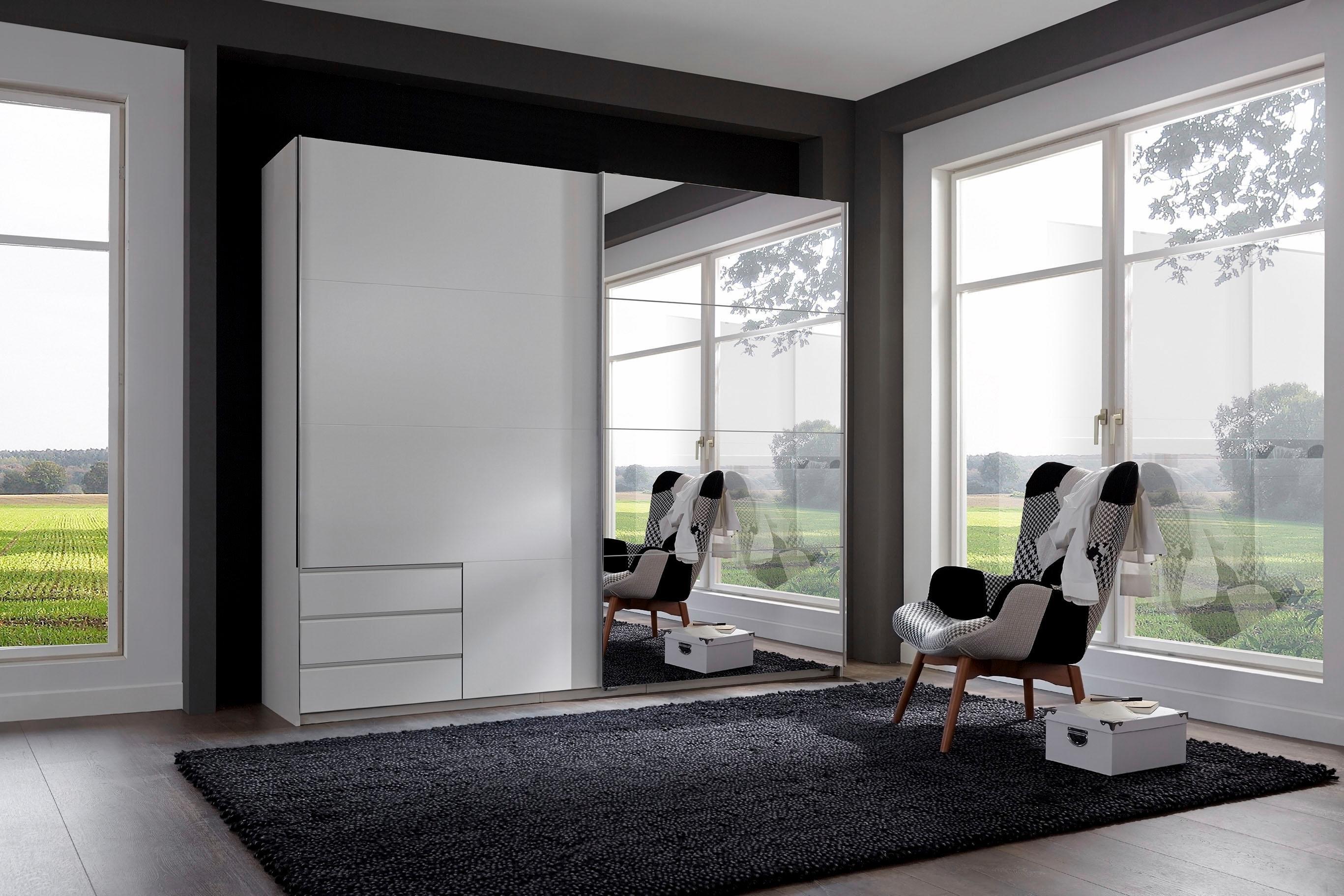 Wimex zweefdeurkast met spiegel en laden goedkoop op otto.nl kopen