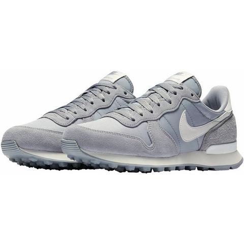 Nike Internationalist damessneaker grijs en wit