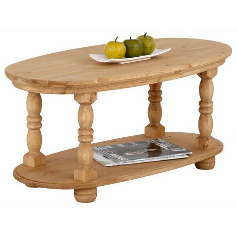 Home affaire salontafel Irena, van massief hout, in twee verschillende kleuren, breedte 100 cm