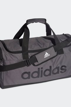 adidas performance sporttas essentials logo duffelbag medium grijs