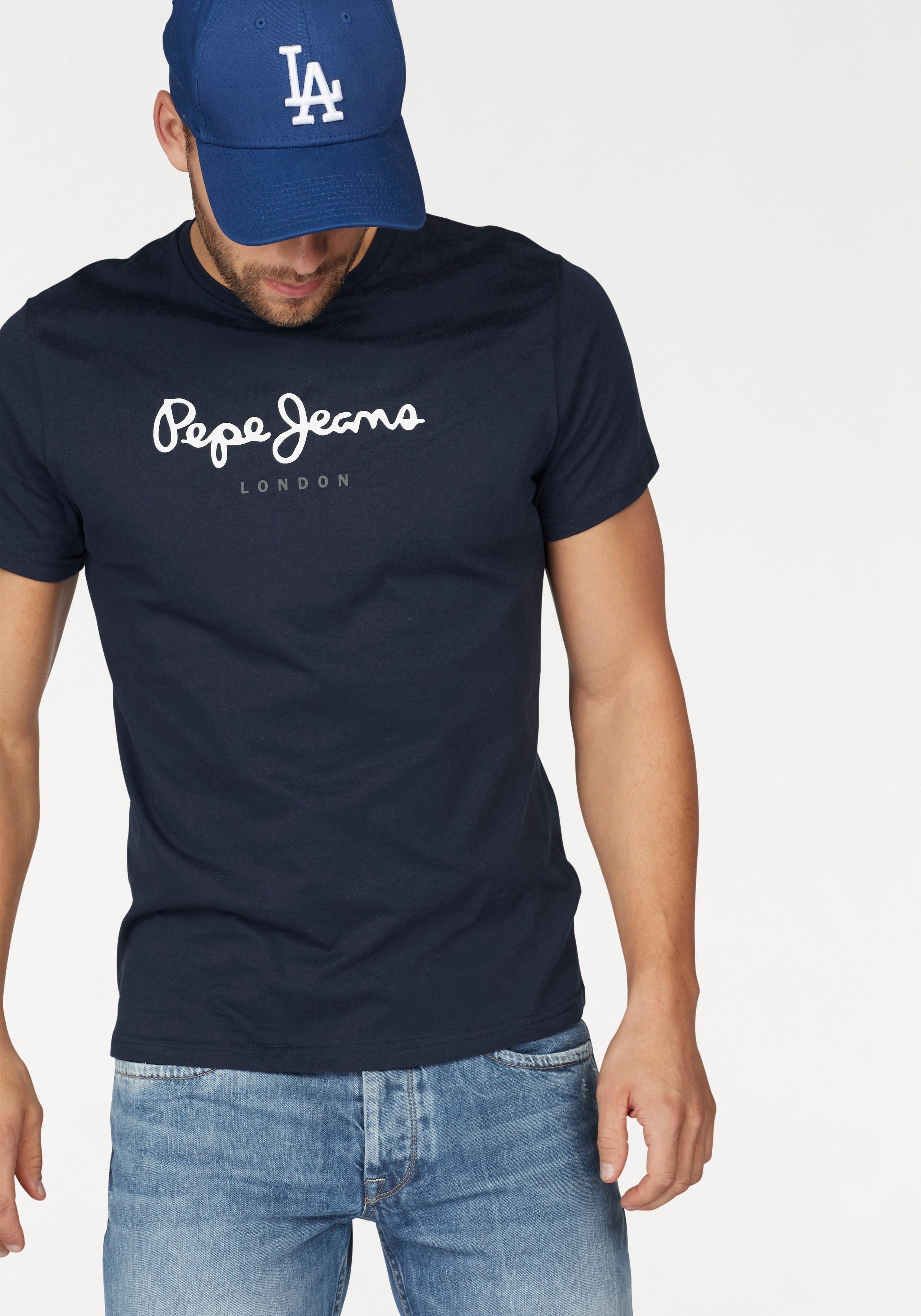 Pepe Jeans shirt met ronde hals »EGGO« goedkoop op otto.nl kopen