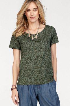 stooker women shirt met print groen