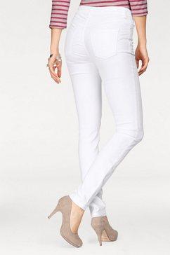 mac skinny fit jeans dream skinny zeer elastische kwaliteit voor een perfecte pasvorm wit