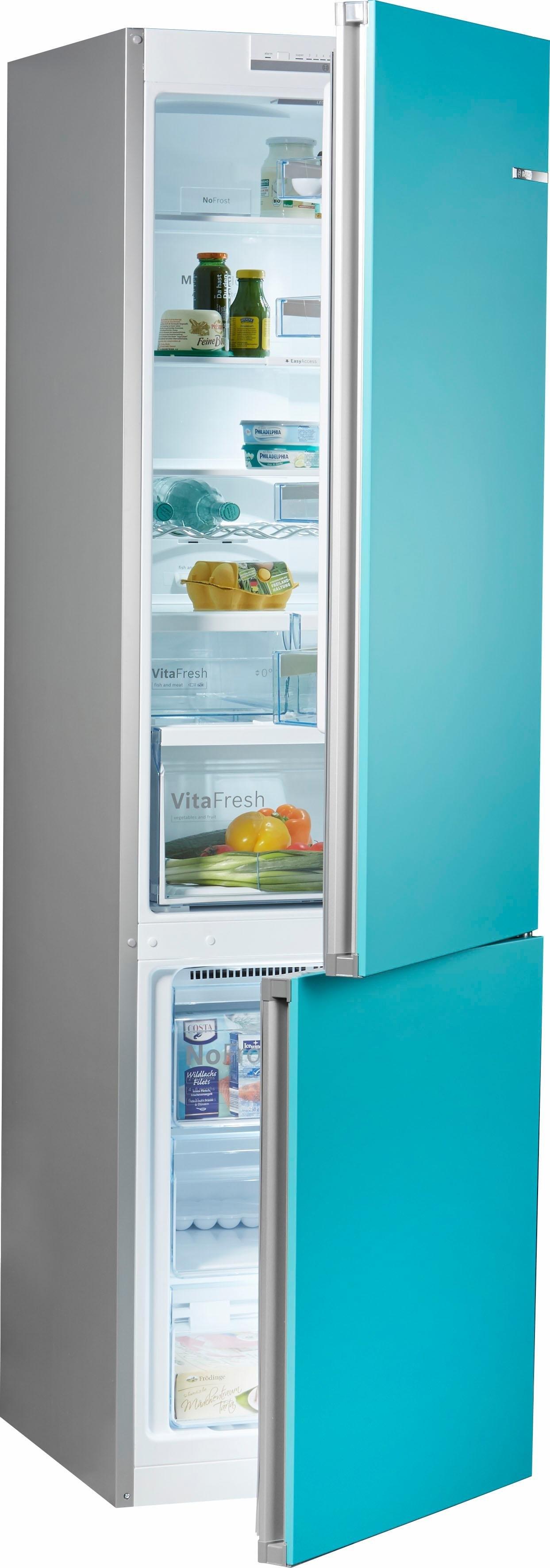 Bosch koel-vriescombinatie, 203 cm hoog, 60 cm breed nu online bestellen