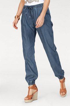 stooker women straight jeans blauw