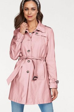 clarina trenchcoat roze