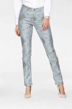 mac ankle-jeans »dream skinny« grijs