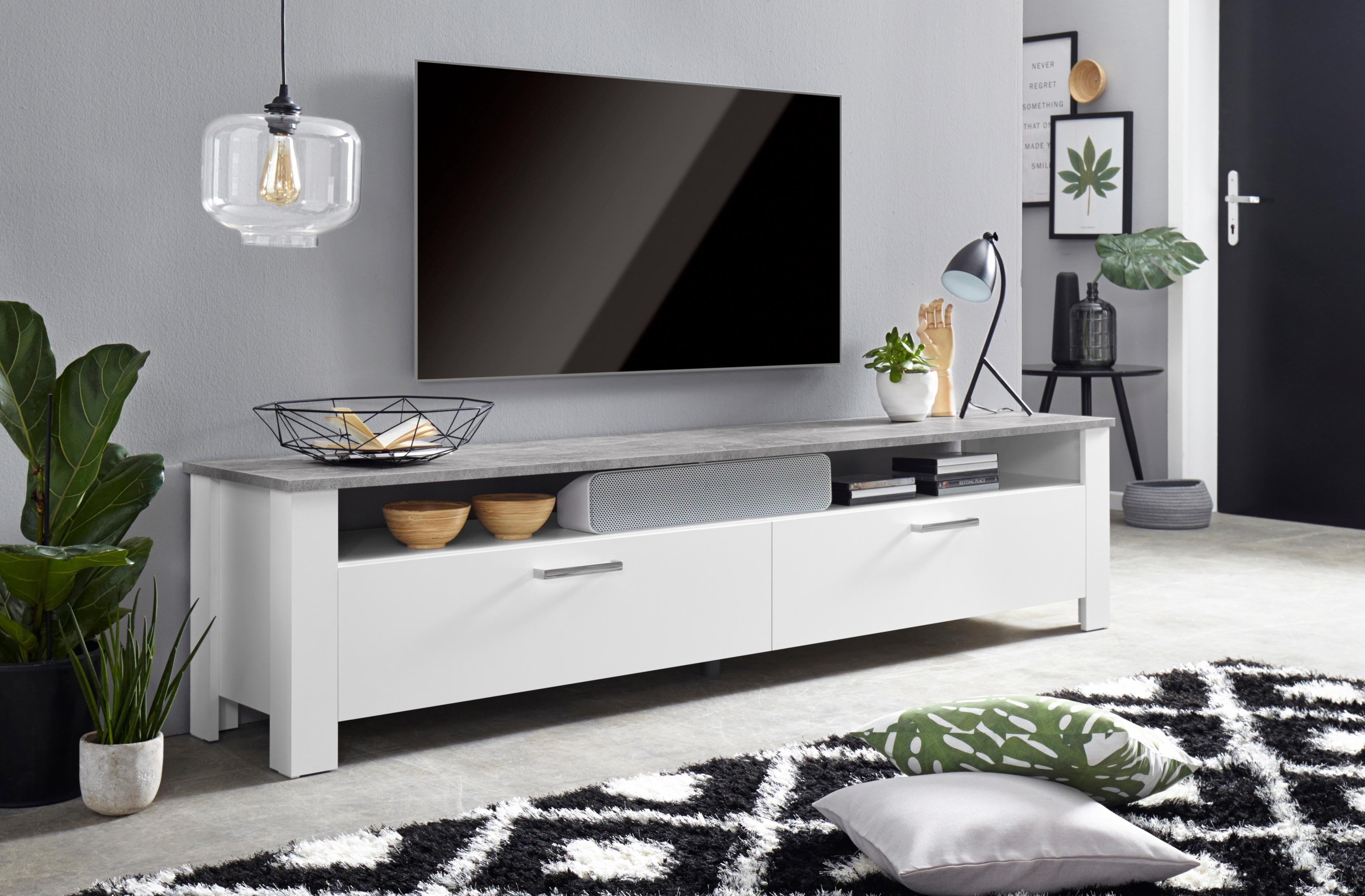 Homexperts tv-meubel Zabona Breedte 200 cm nu online kopen bij OTTO
