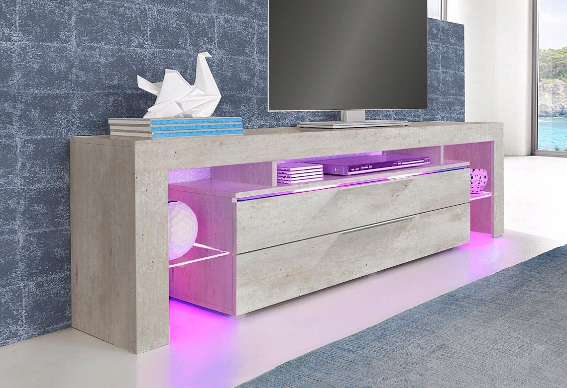 Places Of Style Lowboard met laden breedte 163 cm - verschillende betaalmethodes
