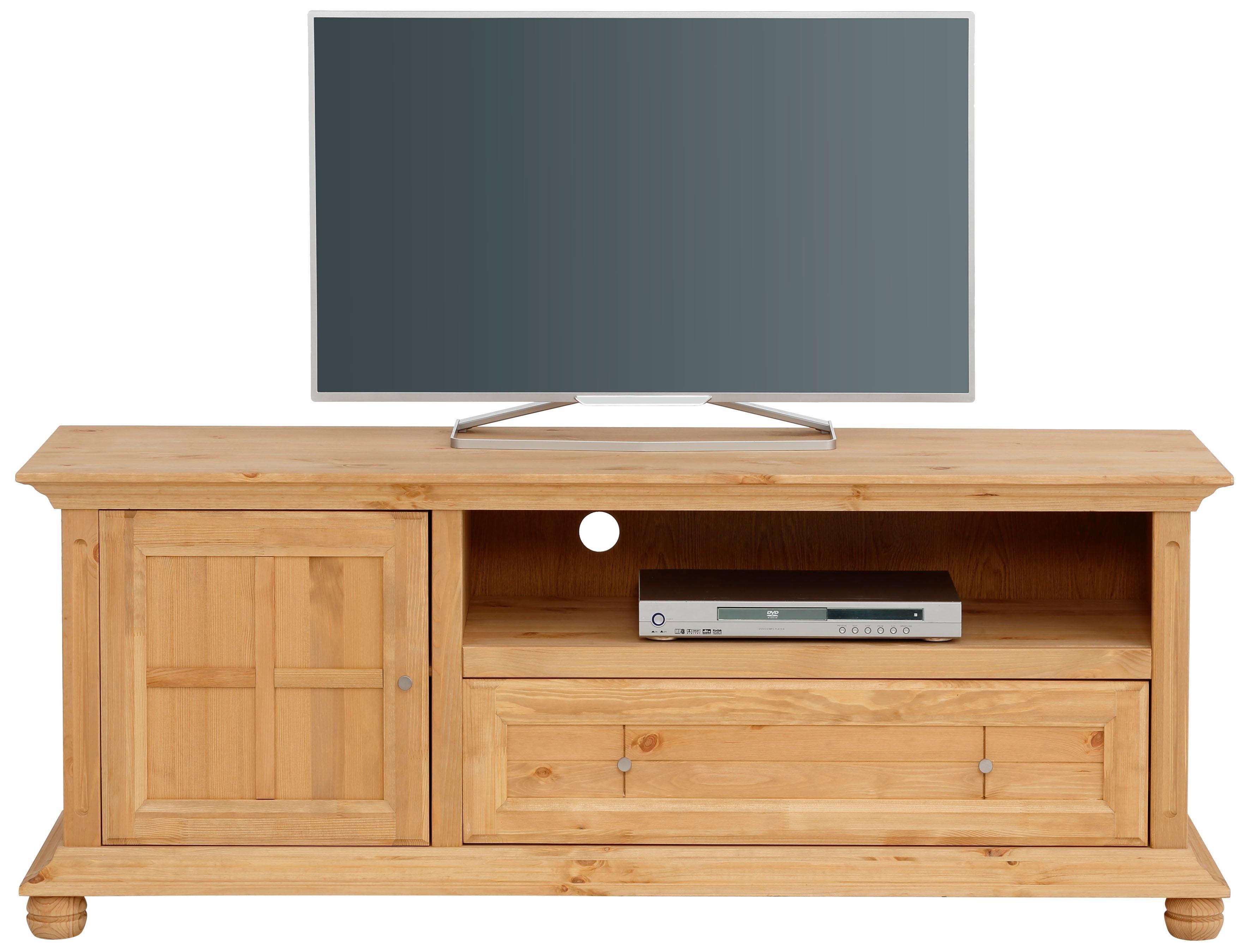 Home Affaire tv-meubel »Kristin«, van massief hout, in twee verschillende kleuren, breedte 161 cm - verschillende betaalmethodes